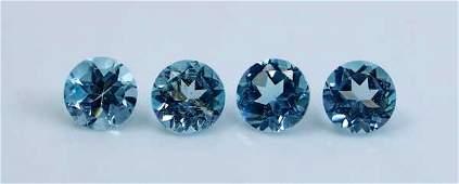 GGTI-Certified- 3.95 Cts Blue Topaz Gemstone Natural