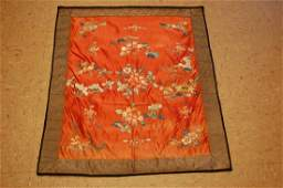 Pre 1900s Antique Very Fine Silk Chinese Embroidery