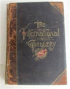 1886 THE INTERNATIONAL GALLERY by CASIMIR KOLSTOI