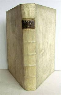 1731 OLD TESTAMENT BIBLE PROPHETS COMMENTARY antique
