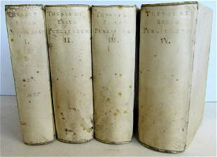 1675 HISTORY of WORLDS PUBLIC EVENTS 4 VOLUMES by