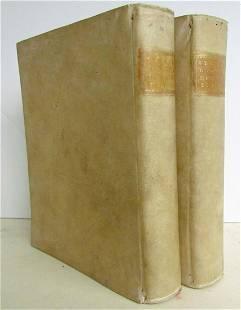1748 2 VOLUMES ILLUSTRATED CICERO LIFE in ITALIAN