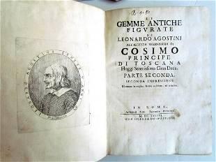 1686 LE GEMME ANTICHE FIGURATE DI LEONARDO AGOSTINI