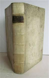 1731 OLD TESTAMENT BIBLE COMMENTARY LIBRI HAGIOGRAPHI