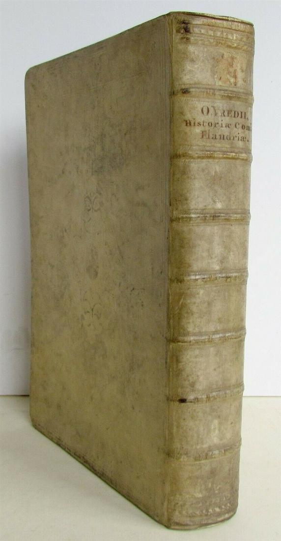 1650 HISTORIA COMITUM FLANDRIAE By Olivario Vredio