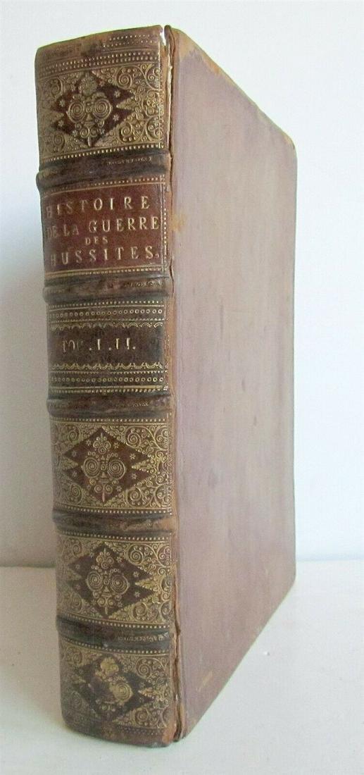 1731 HUSSITE WAR HISTORY antique HISTOIRE DE LA GUERRE
