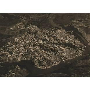 JOSE ORTIZ ECHAGUE Aerial View of Toledo Spain