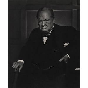 YOUSUF KARSH - Sir Winston Churchill