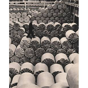 ADOLF MORATH In a Paper Mill