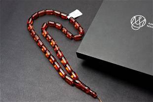 Natural Baltic Amber Rosary