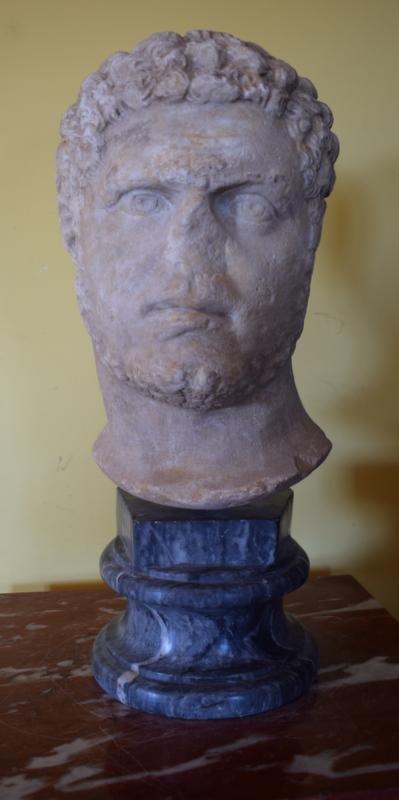 Marble head.
