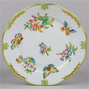 Herend Queen Victoria Dessert Plate 517VBO II