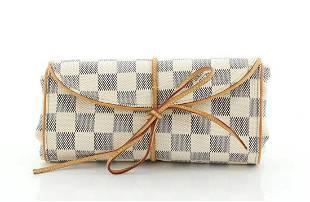 Louis Vuitton Folding Jewelry Travel Case in Damier
