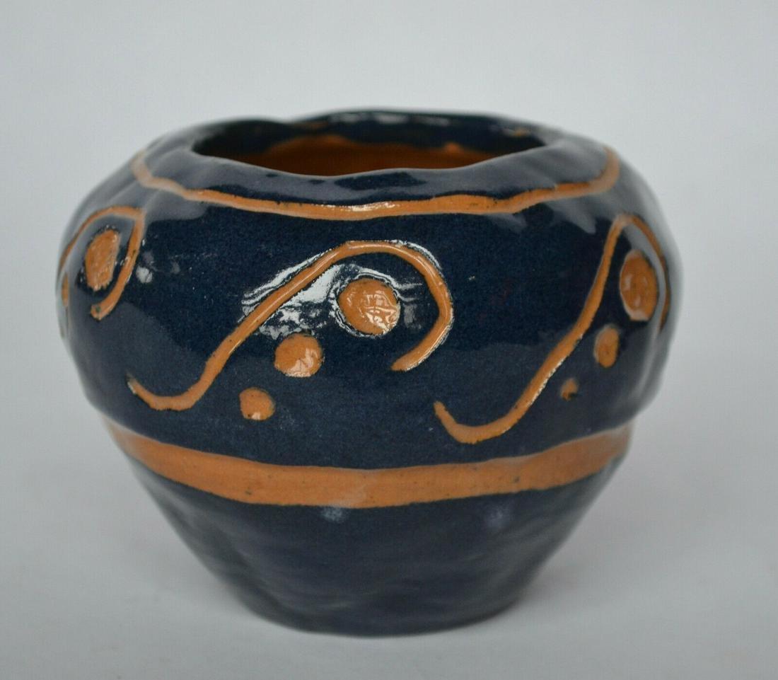 UND Carved Vase - Signed and Dated; UND Carved Vase -