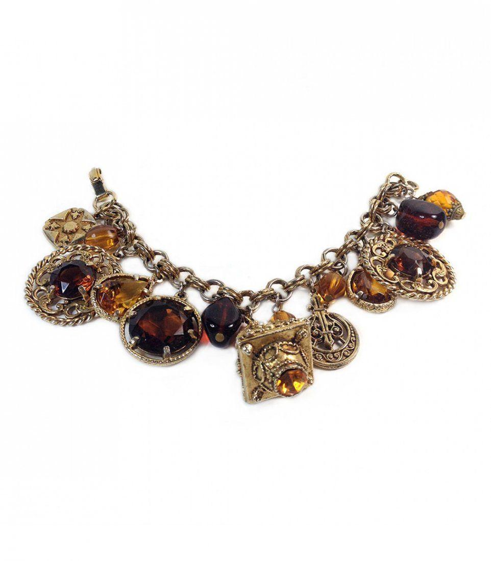 Coro Charm Bracelet
