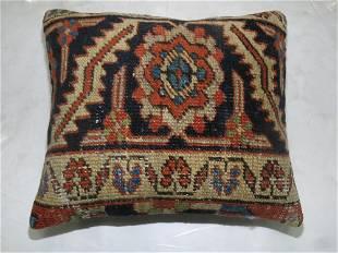 Antique Heriz Rug Pillow
