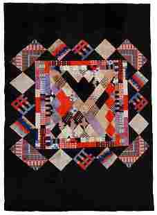 Handmade vintage Tibetan Khaden Modern rug 64 x 99