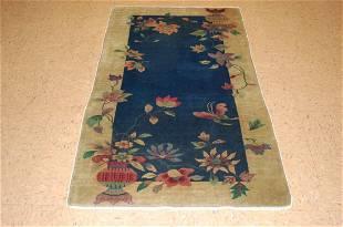 Circa 1920s ANTIQUE ART DECO WALTER NICHOLS CHINESE RUG