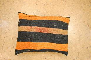 Hand Made of antique rug Pillow Cushion Rug 17 x