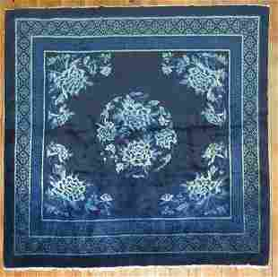 Antique Chinese Rug 5 7 x 6 2