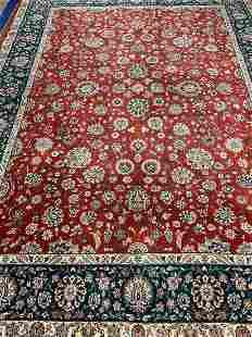 Semi Antique Hand Woven PersianTabriz 117x81