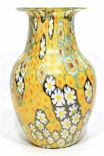Gabrile Urban Murano glass vase Murrine