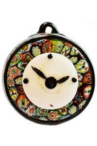 1950 Murano glass decorative Clock
