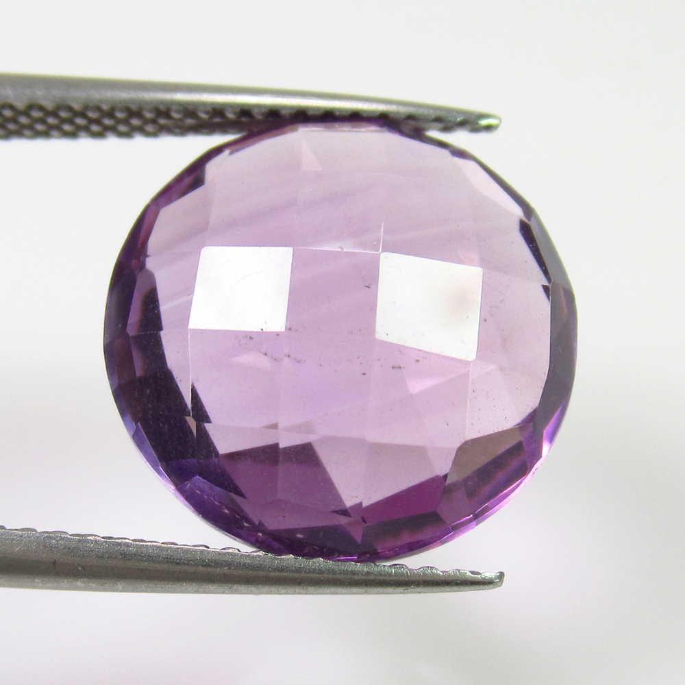 8.50 Ct Natural Purple Amethyst Round Cut