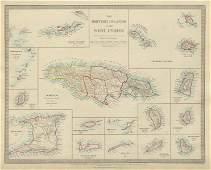 BRITISH WEST INDIES. Jamaica Antilles Virgin Cayman