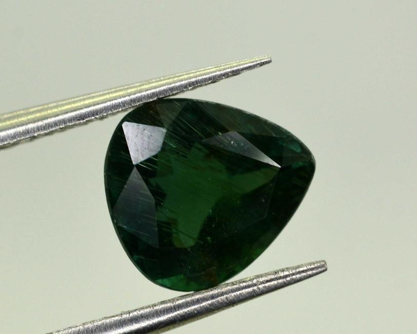 0.85 Carats Pear Cut Green Tourmaline~6x5x3 mm