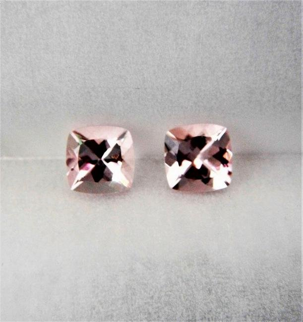 Morganite Pair - 1.85 ct