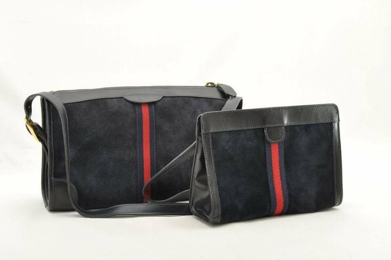 Gucci Sherry Lline Shoulder and Clutch bag