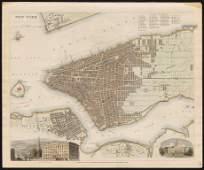 1840 map of New York City, SDUK