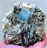 Aquamarine Specimen , Terminated Damage Free Aquamarine