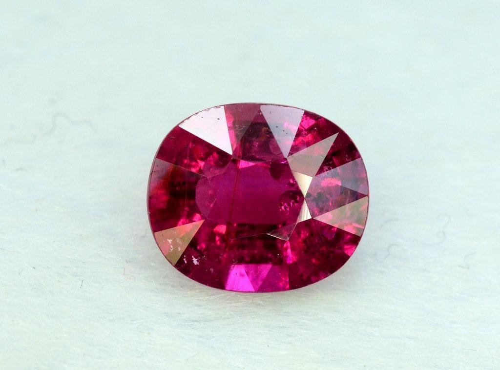 2.10 cts Untreated Rubelite Tourmaline Gemstone from