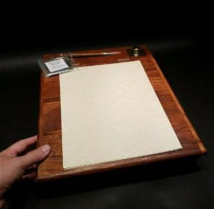Writing Slope Desk Inkwell set