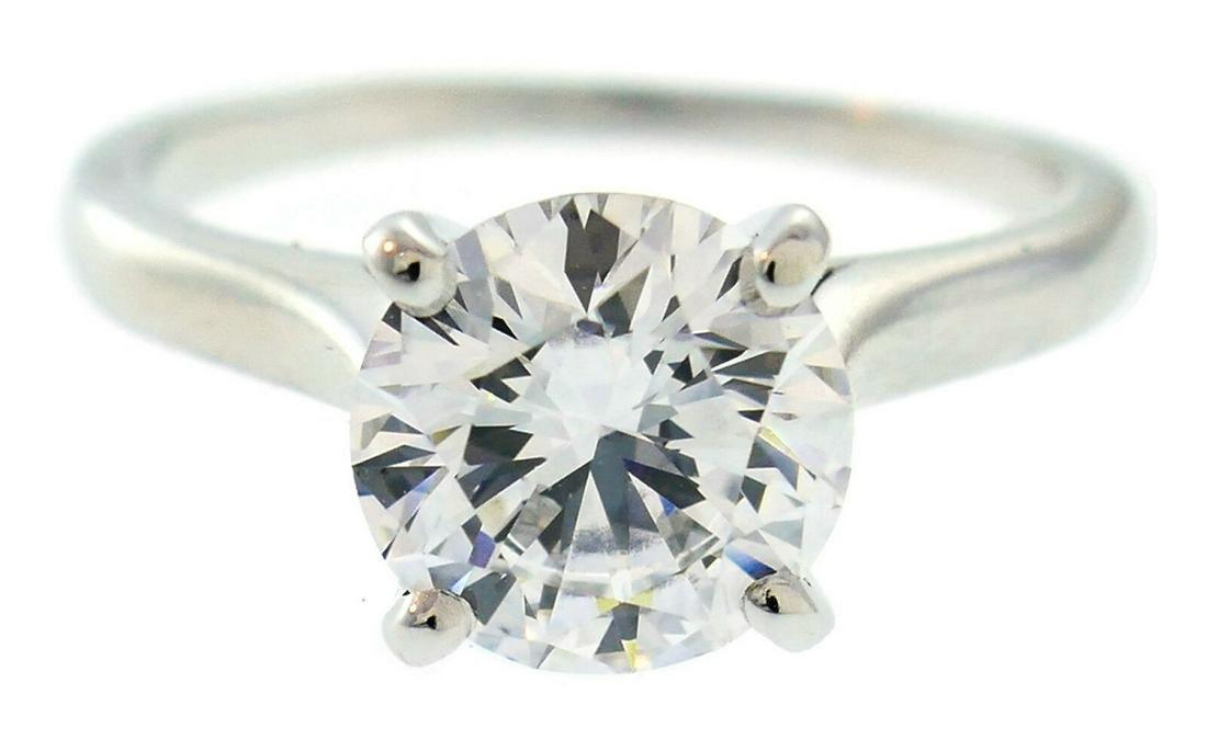 CARTIER 1.50-ct D VS1 GIA Diamond Platinum RING