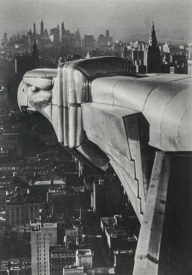 MARGARET BOURKE-WHITE - The Chrysler Building, 1935