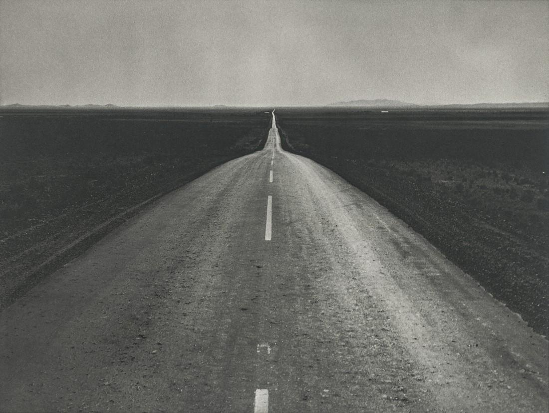 DOROTHEA LANGE - The Road West, New Mexico, 1938