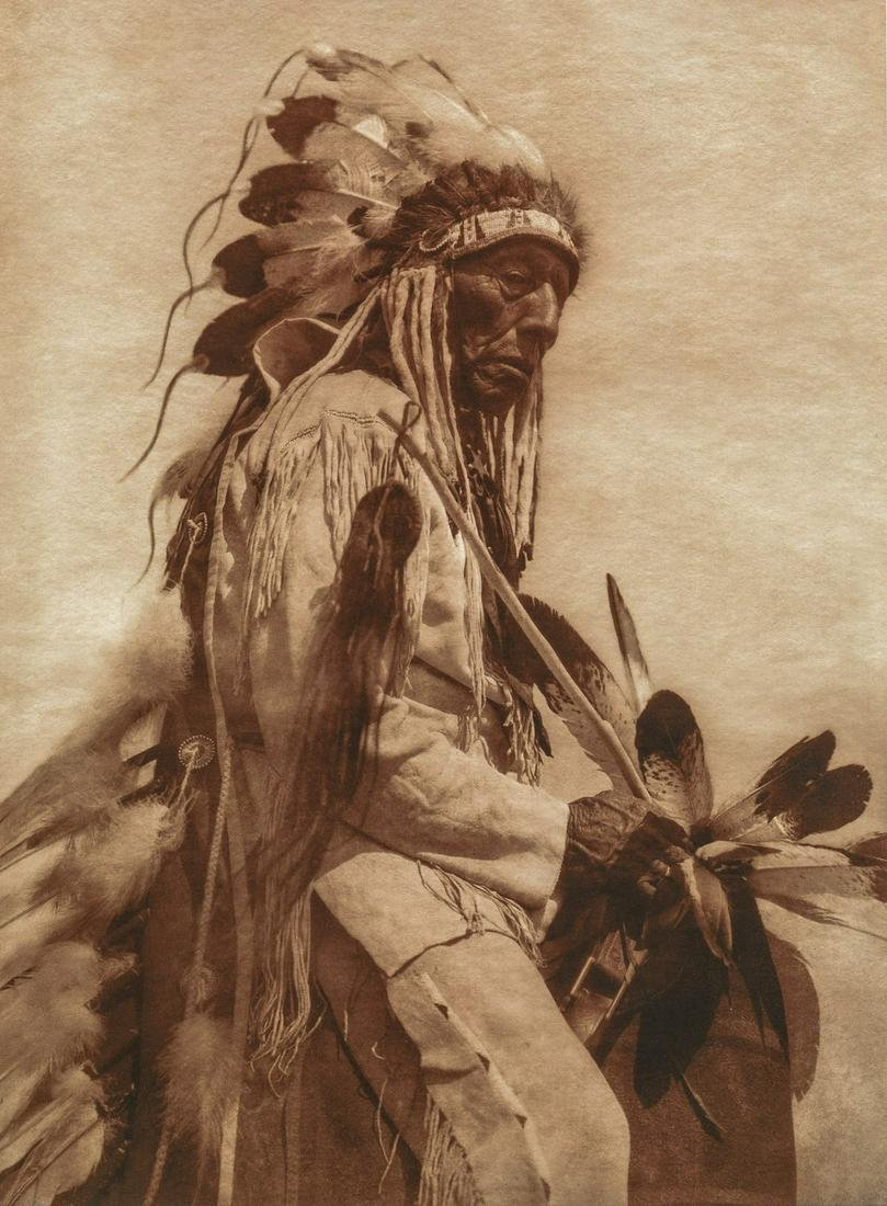 EDWARD CURTIS - The Old Cheyenne, 1930