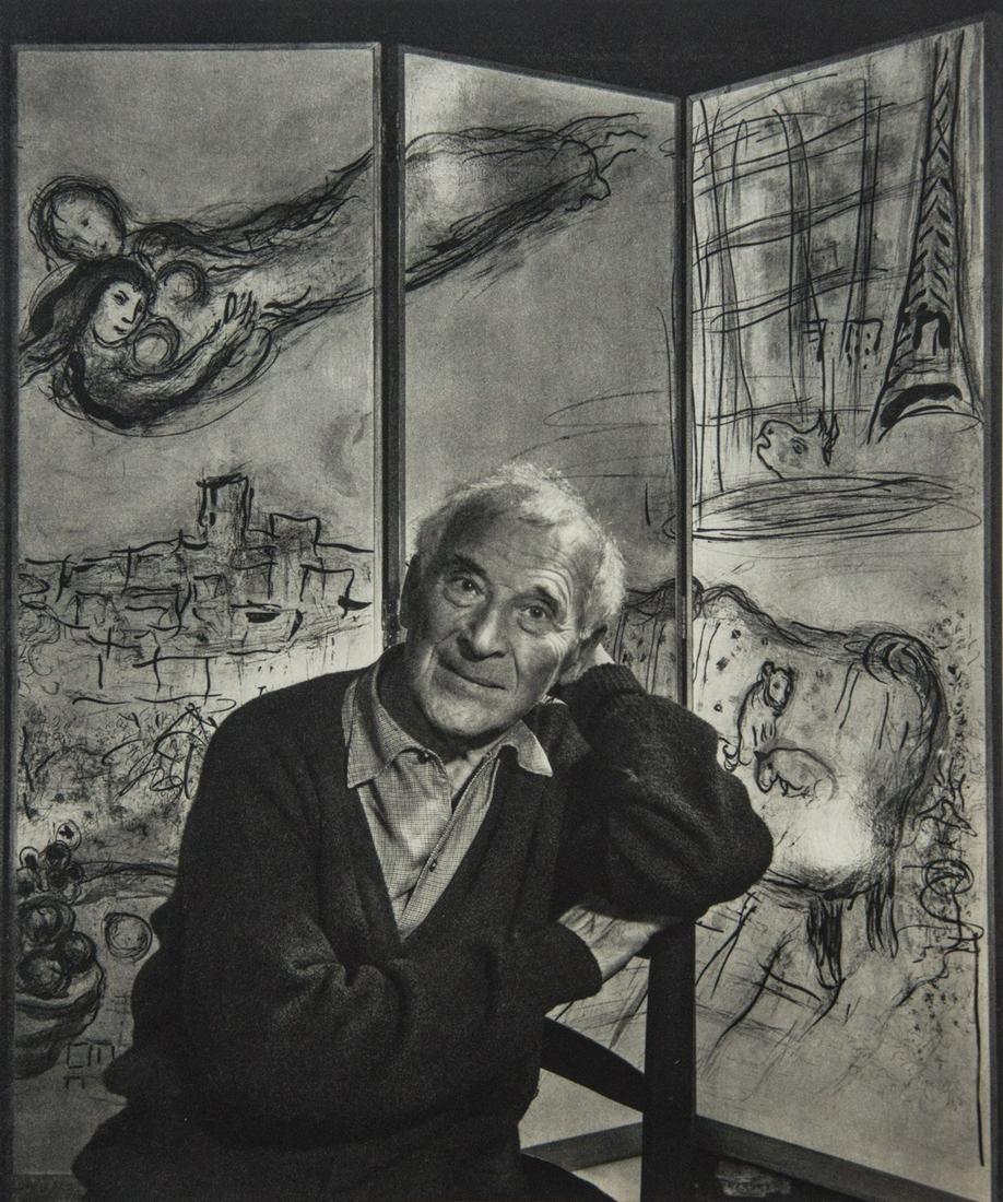 YOUSUF KARSH - Marc Chagall