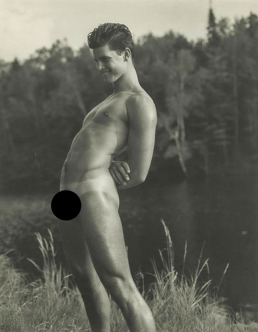 BRUCE WEBER - Rob at the Lean-to on the St. Regis