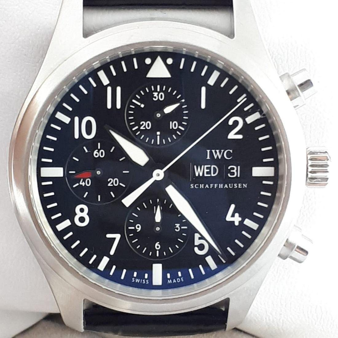 IWC - Pilot Chronograph Automatic - Ref: IW3717 - Men -