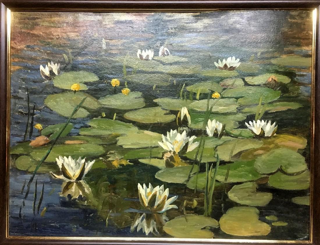 Oil painting Swamp Chernavsky Gennady