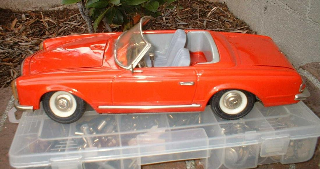 Schuco Real 5500, Mercedes 230 SL, Made in Germany