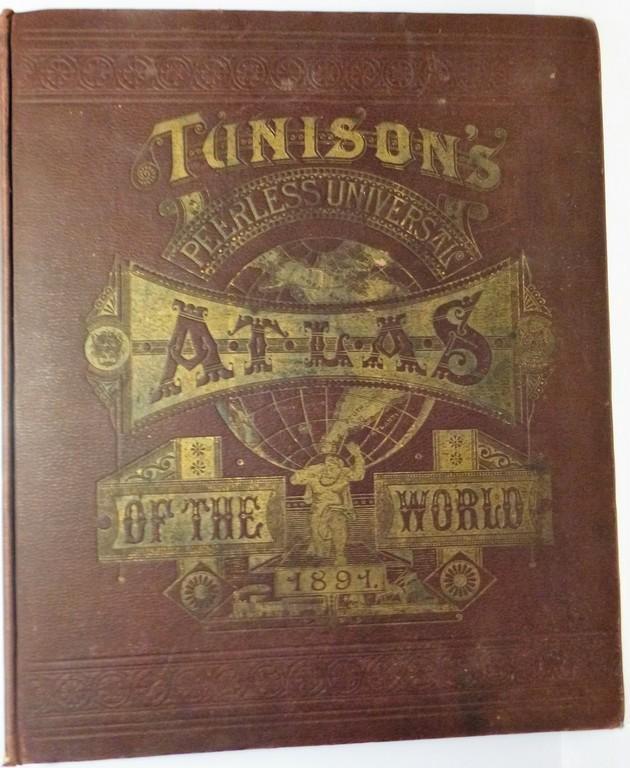 Tunison's Peerless Atlas of the World, 1891