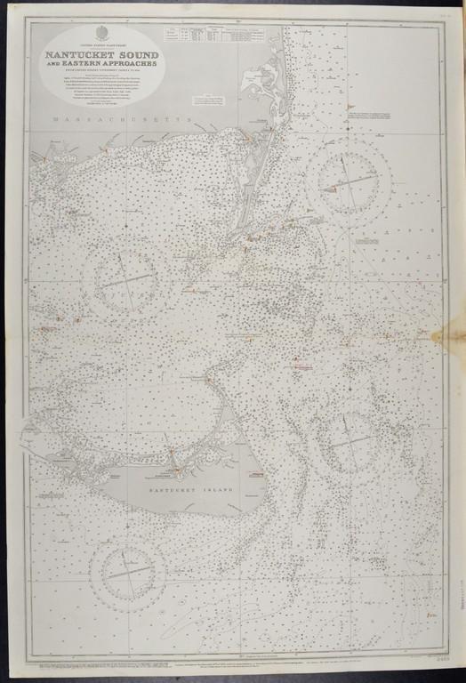 United States – Nantucket IslandBritish Admiralty Chart
