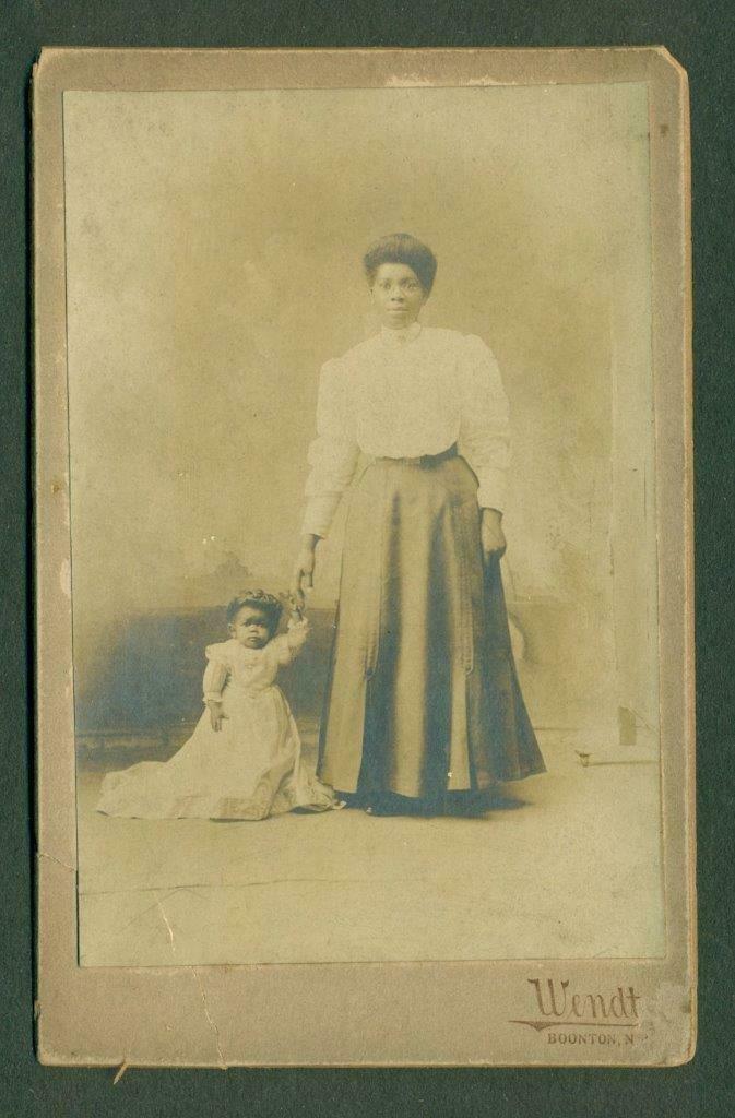 1912 BLACK AFRICAN AMERICAN PRINCESS WEE WEE CIRCUS