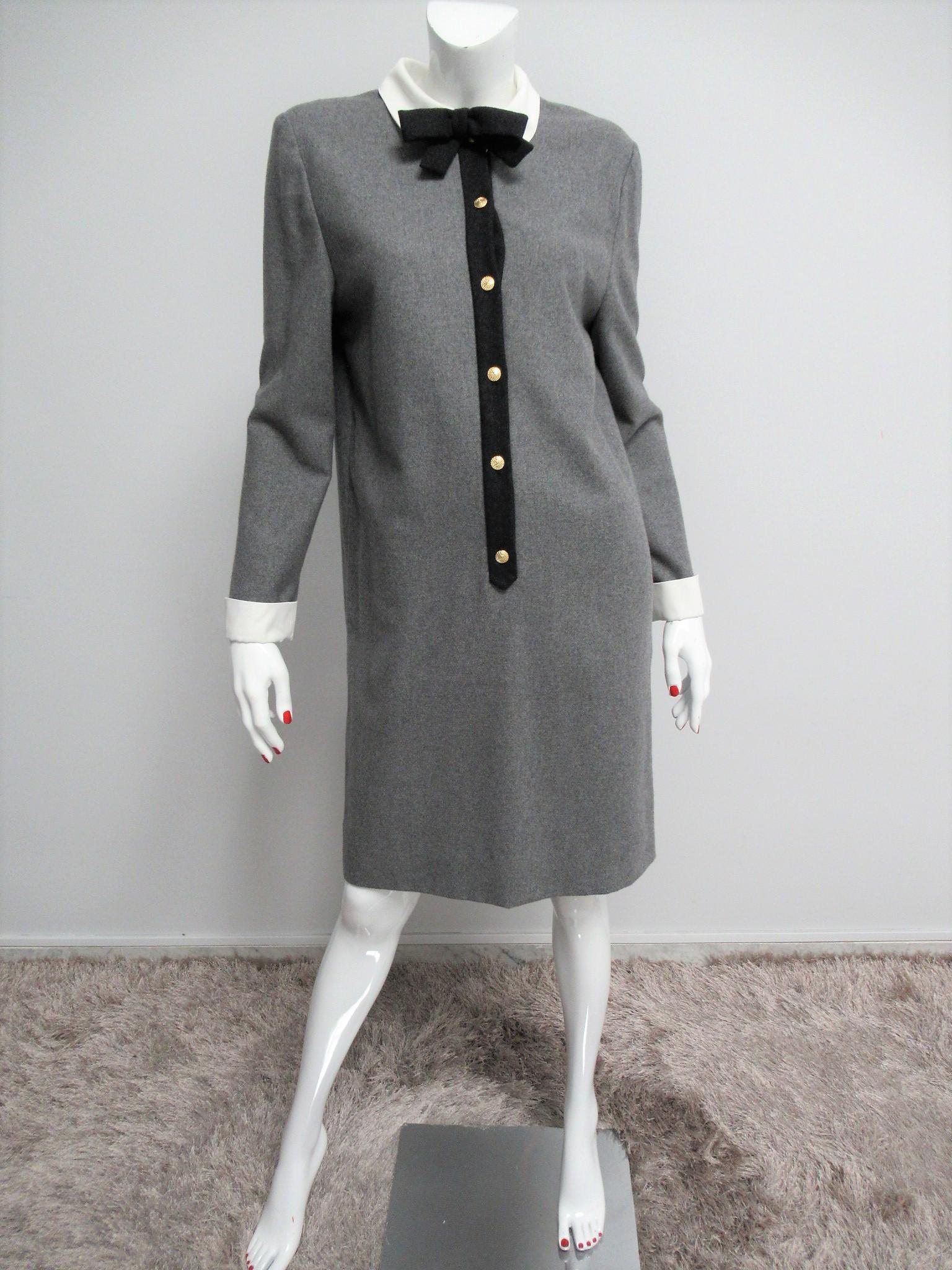 Luisa Spagnoli wool blend dress Size M