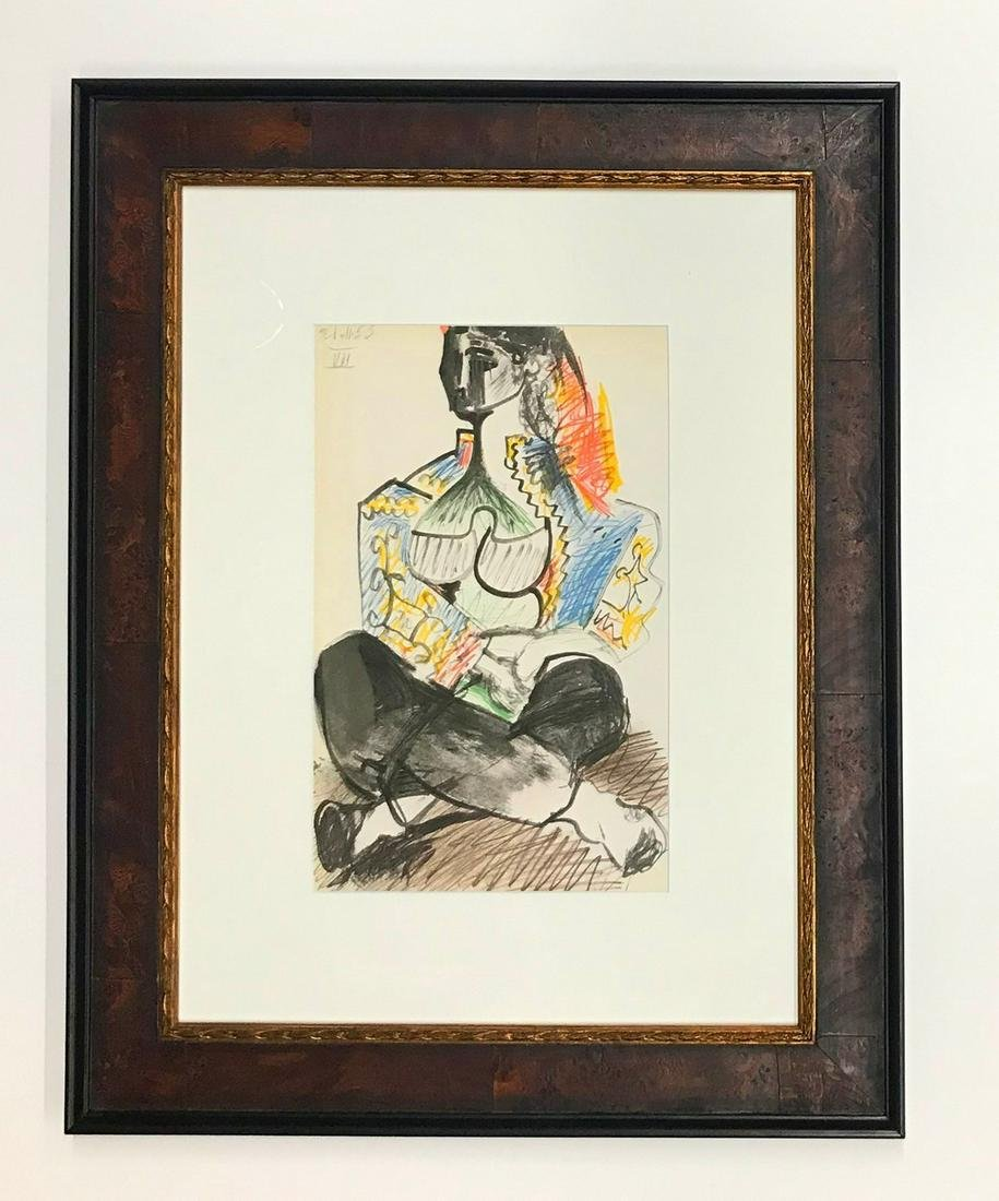 Pablo Picasso Lithograph Sketchbook No.7 dated